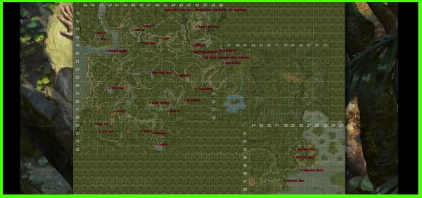 The Forest Karte Höhlen.Green Hell Karten Maps Ext Links Wautscher